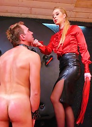 Slave in Bondage Takes Verbal Humiliation and Intense Ass Training From Heavy-Handed Dominatrix^Tyrannized Femdom porn xxx sex free pics picture pictu