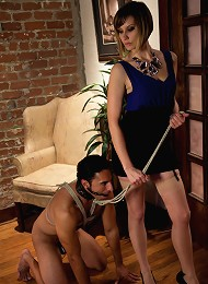 Maitresse Madeline cuckolds her boyfriend with a woman!^Divine Bitches Femdom porn xxx sex free pics picture pictures gallery galleries femdom dominat
