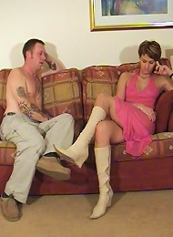 Lady in pink gets eaten on the floor^Shes Boss Femdom porn xxx sex free pics picture pictures gallery galleries femdom domination female