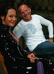 Euro Bitch Dominates worthless slave boy^Men In Pain Femdom porn xxx sex free pics picture pictures gallery galleries femdom domination female