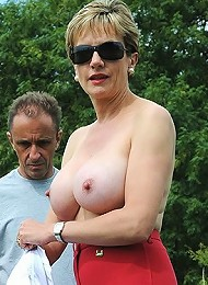 Outdoor busty domme^Lady Sonia Femdom porn xxx sex free pics picture pictures gallery galleries femdom domination female