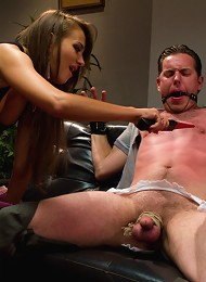 Sadistic wife cuckolds husband with tantric sex specialist.^Divine Bitches Femdom porn xxx sex free pics picture pictures gallery galleries femdom dom