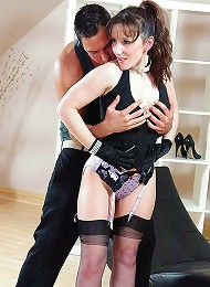 Brunette nylons mistress^Lady Sonia Femdom porn xxx sex free pics picture pictures gallery galleries femdom domination female