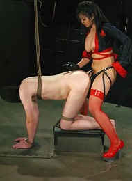 TJ West, Mika Tan^Captive Male Femdom porn xxx sex free pics picture pictures gallery galleries femdom domination female