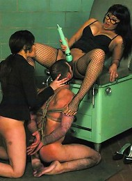 DragonLily, Daac Ramsey and Annie Cruz^Captive Male Femdom porn xxx sex free pics picture pictures gallery galleries femdom domination female