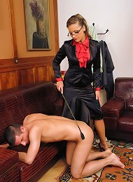 FemDom Therapist Treats Patient to Splendour of Hot Wax, Bondage and Verbal Humiliation^Tyrannized Femdom porn xxx sex free pics picture pictures gall