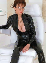 Milf in skintight catsuit^Lady Sonia Femdom porn xxx sex free pics picture pictures gallery galleries femdom domination female